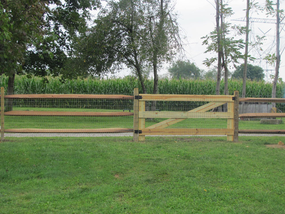 Treated Wood & Cedar Fence | Premier Fence & Decks - Serving Ohio ...